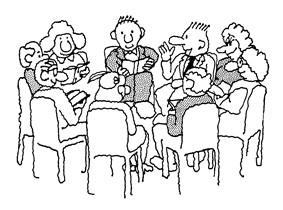 1st Lent, Communion, Annual Meeting