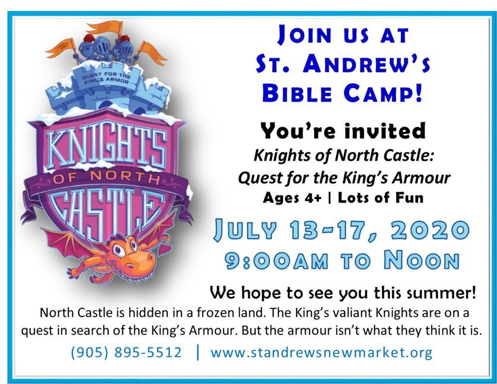 Vacation Bible Camp July 13-17
